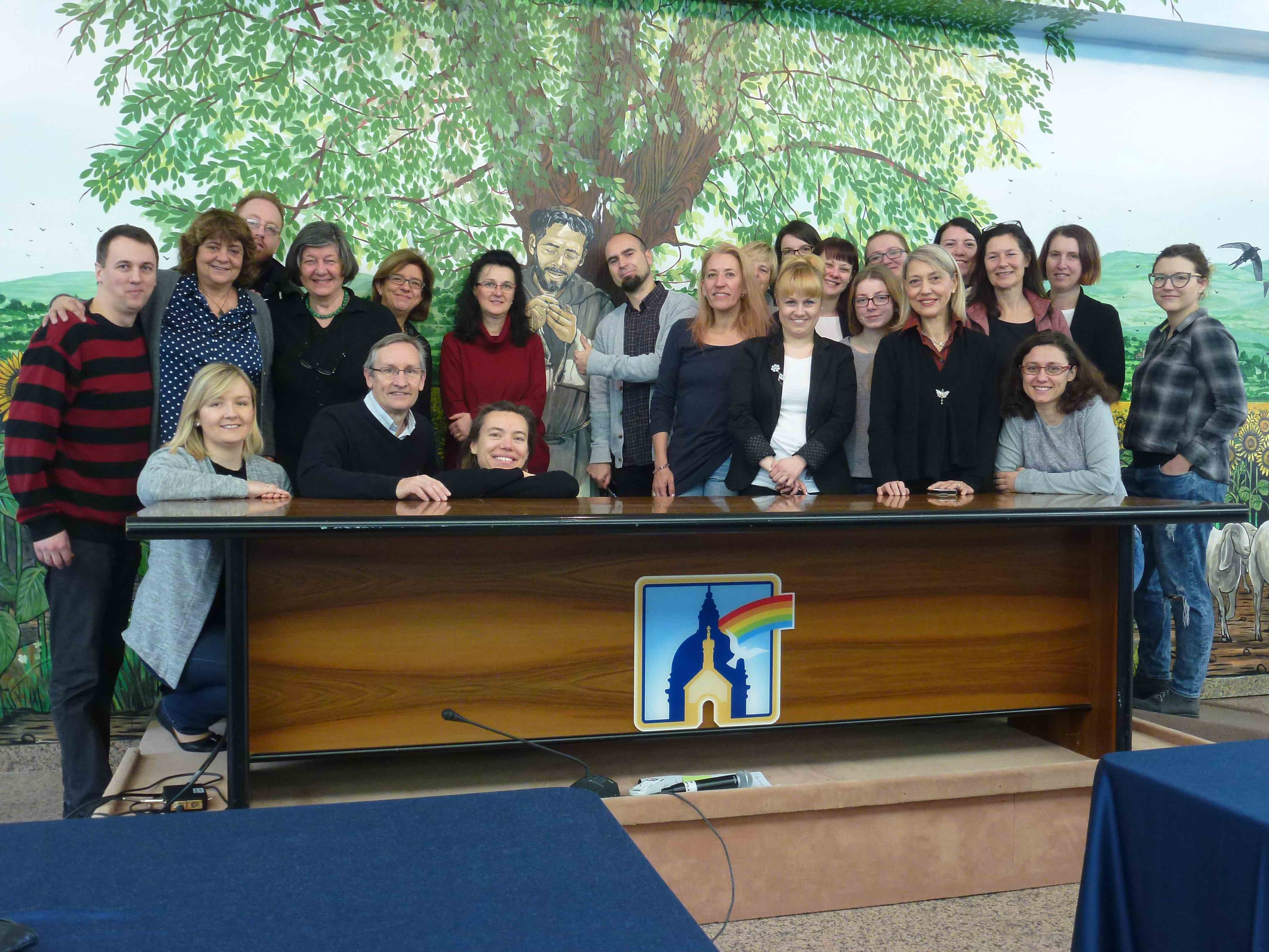 Group photo APP TOUR YOU Training, Assisi
