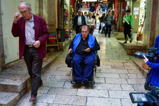 Accessible roads in Jerusalem