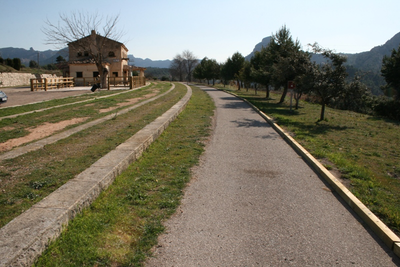 Image of Greenway path by Consell Comarcal de la Terra Alta