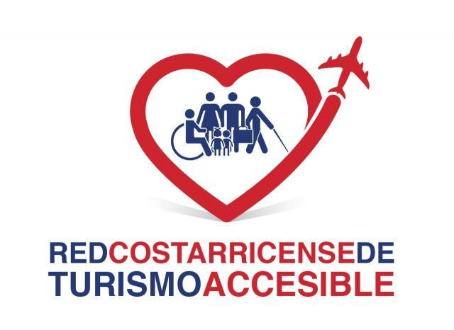 logo Red Costarricense de Turismo Accesible