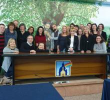 Group photo APP TOUR YOU Training, Assisi