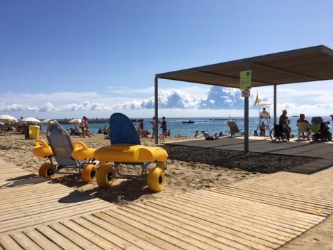 Barcelona Accessible Beach Nova Icaria