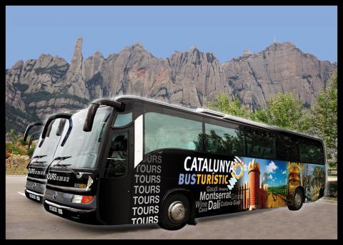 Catalunya Bus Turístic image of tour buses