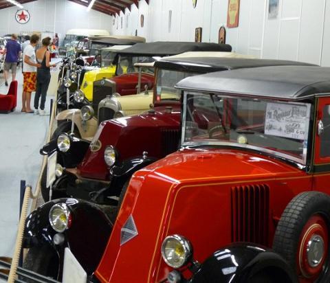 Musée Automobile. Allier (03), Auvergne, France